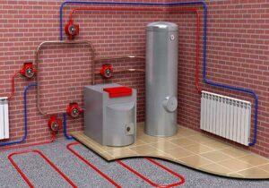 отопление в частном доме Киев