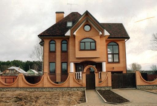 Кирпичный дом под ключ