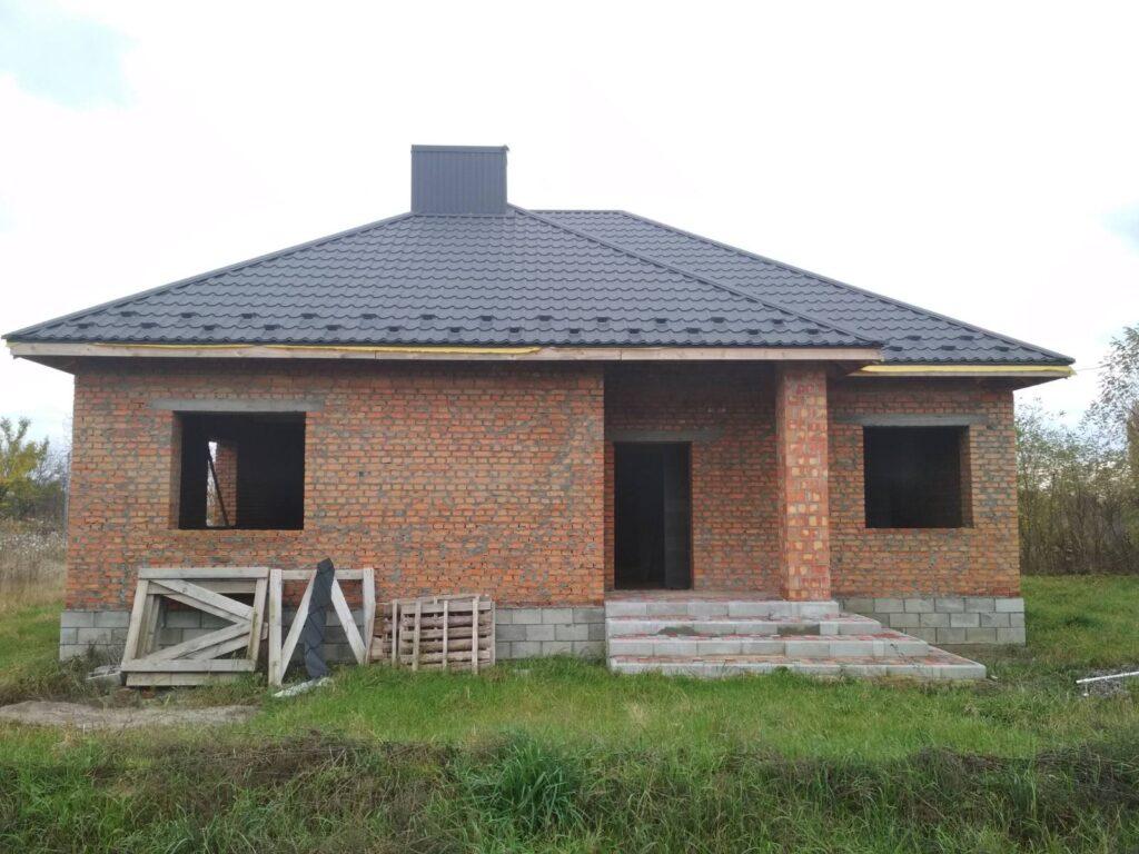 Строительство дачи из кирпича