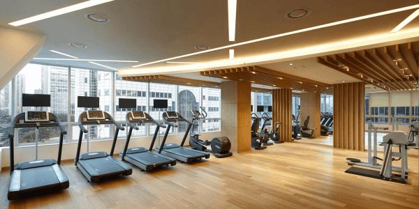 ремонт фитнес центра киев