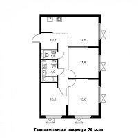 недорогой ремонт трехкомнатной квартиры