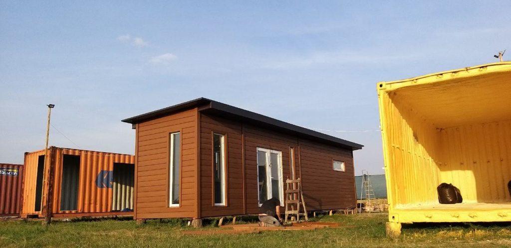 Купить дом из контейнера цена Киев