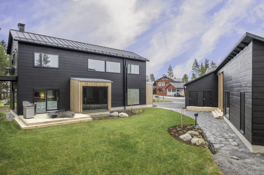 Строительство дома в скандинавском стиле